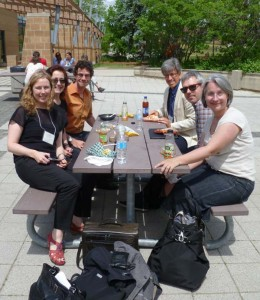 Lara Campbell and colleagues at the Canadian Historical Association, University of Waterloo, 2012