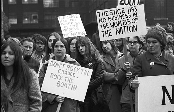 Abortion Caravan protest, 1970. Collection: Toronto Telegram.